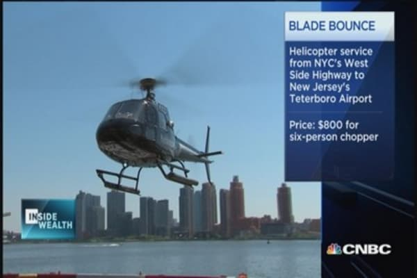Uber for helicopters