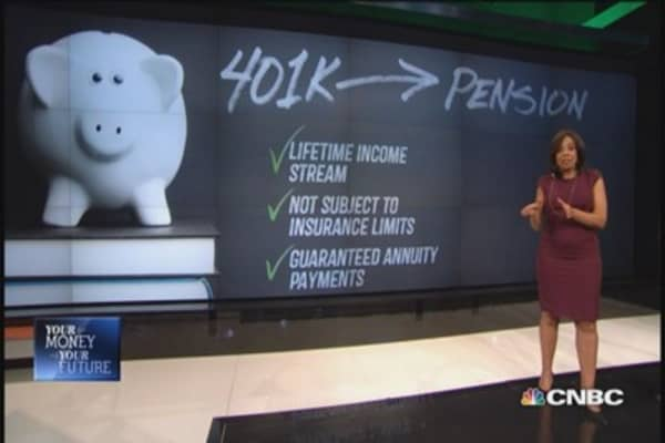 Pros and cons of 401(k) roll over to pension