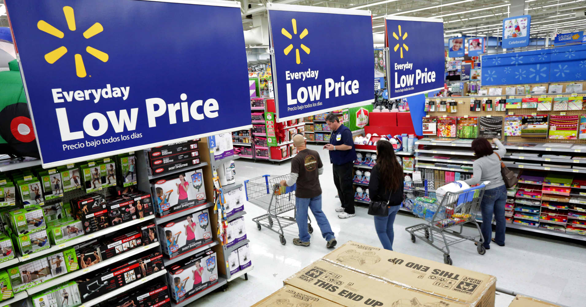 wal mart current economic conditions Wal-mart is a modern retailing empire with 3550 outlets in the  the basic  political and economic conditions that allow wal-mart to ignore the.
