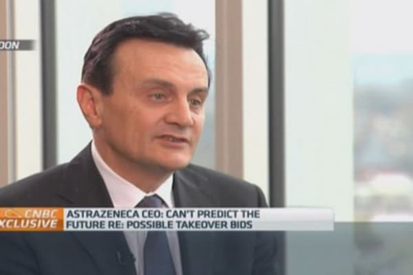Pfizer deal would have failed: Astrazeneca CEO