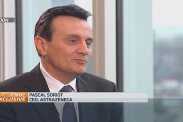 Drug pipeline strong, less need for M&A: Astrazeneca CEO