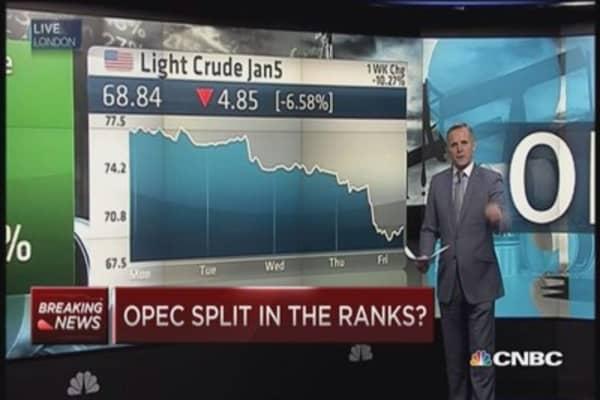 OPEC decision splits ranks
