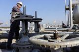 Oil worker in Iraq