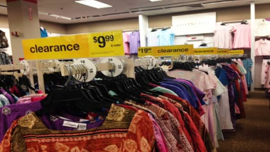 Foot traffic was slow at both Sears and Kmart to kick off the holiday season, leading to some Sunday clearance sales.
