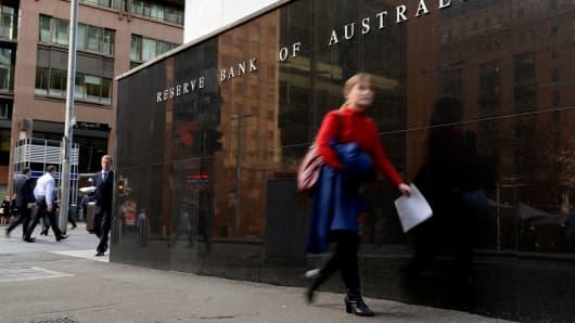 The Reserve Bank of Australia headquarters