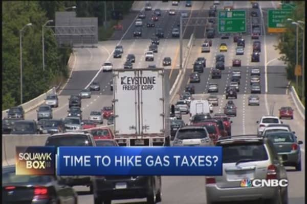 Time to hike gas tax?