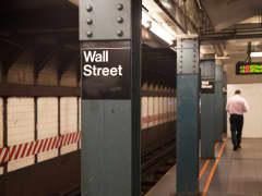 Wall Street subway station NYSE
