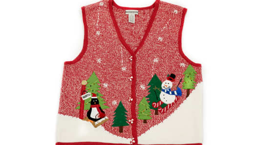 Scenes from the North Pole Vest