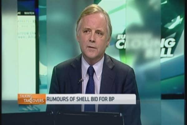 Rumor of Shell bid drive BP shares higher