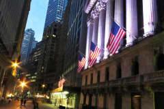 NYSE New York Stock Exchange Wall Street