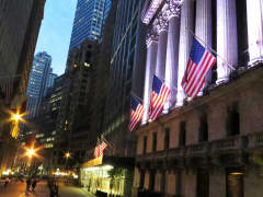 NYSE New York Stock Exchange Wall Street