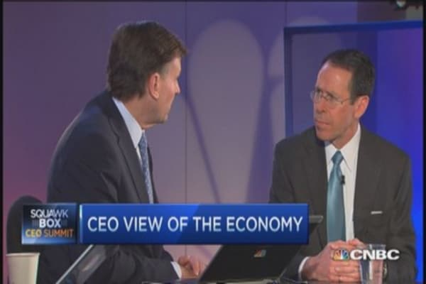 AT&T CEO: US tax code noncompetitive