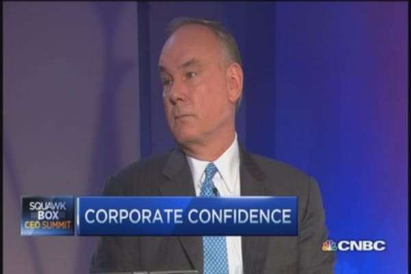 PwC CEO:  Corporate leaders gaining confidence