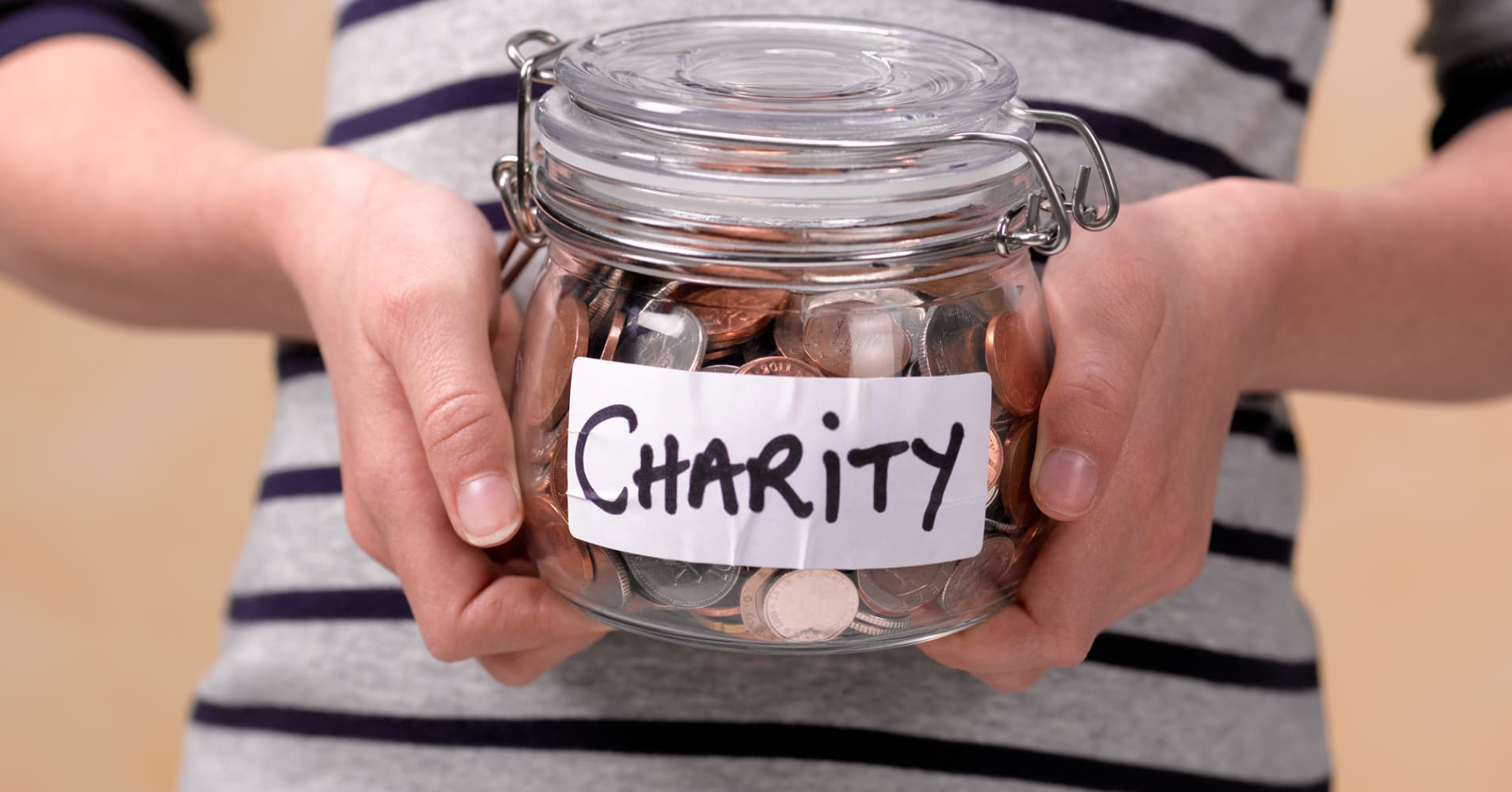 Charity really does begin at home. Here's why