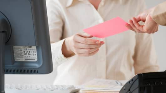 Pink slip job cut