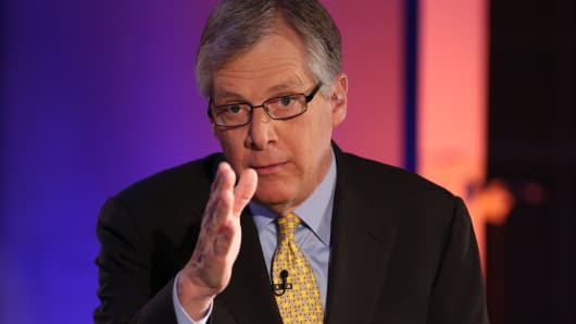 Doug Oberhleman, chairman and CEO of Caterpillar, chairman of the Business Roundtable