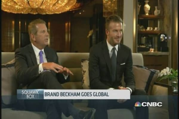 Global Brands teams up with David Beckham