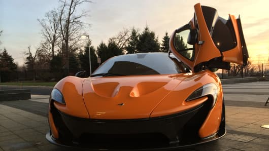 McLaren's flagship sports car, the P1, goes from zero to sixty in 2.7 seconds.