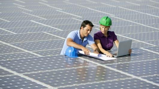 solar power gender gap