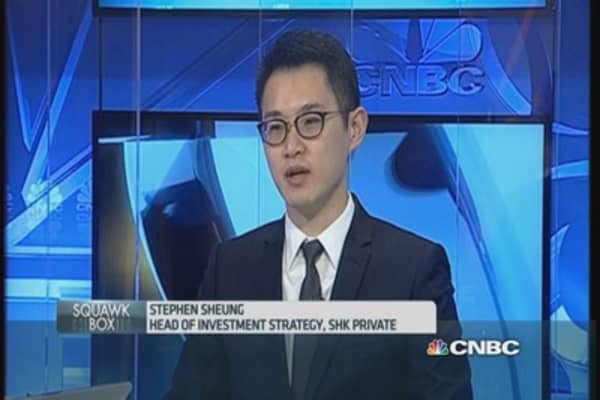 China remains our top 2015 pick: SHK Private