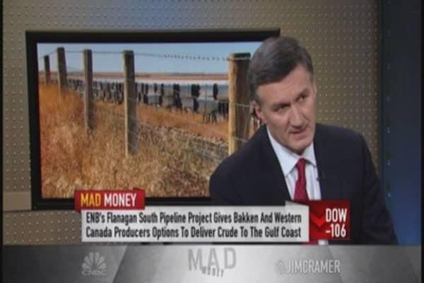 Enbridge CEO: Cheap oil good for economy