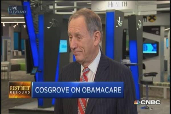Obamacare not going away: Cleveland Clinic CEO