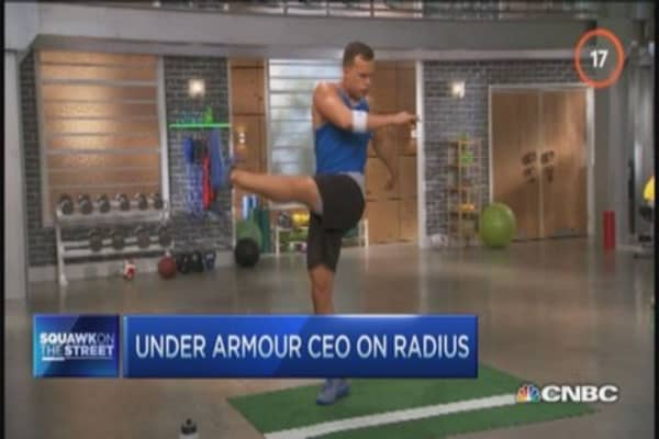 Under Armour partners with NBC Sports