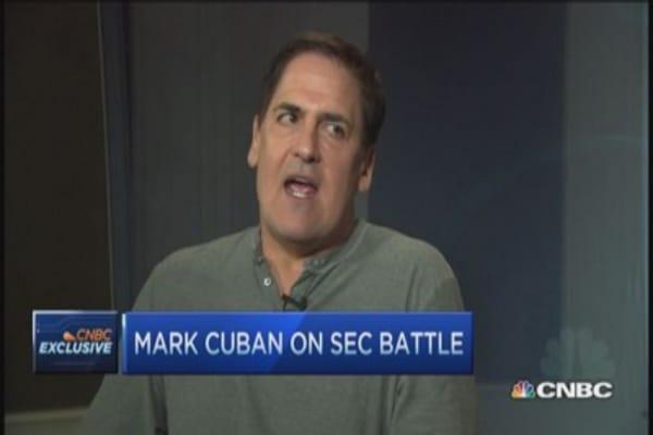 Mark Cuban: 'Burn' SEC down