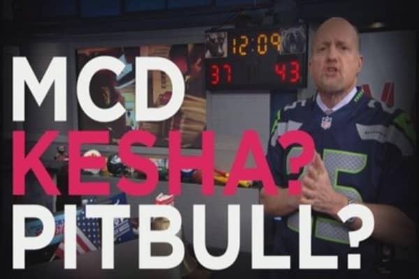 Cramer: McDonald's reminds me of Kesha & Pitbull