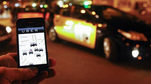 Uber app Spain