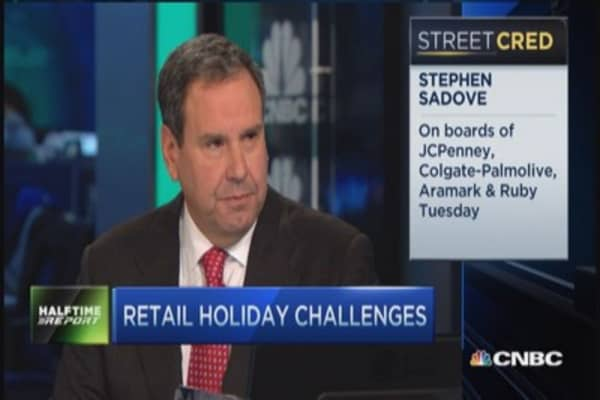 2015 holiday retail winners & losers