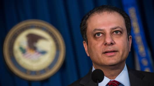 Preet Bharara tweets about Moreland Commission after firing