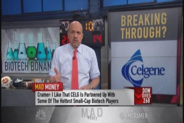 Cramer: Celgene has phenomenal pipeline