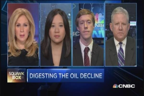 Oil's slide a black swan event?