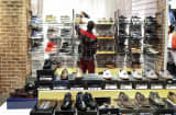 Man shopping in African mall