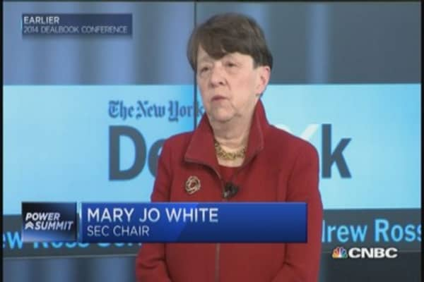 SEC's White: Insider trading decision 'narrow view' of law