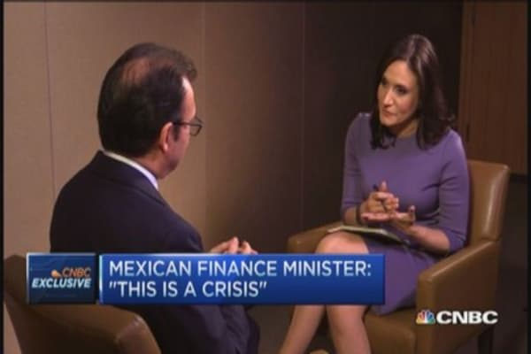 Mexico Finance Minister: Crisis, corruption & unrest