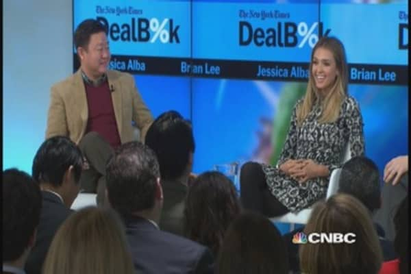 Jessica Alba on acting versus running a business
