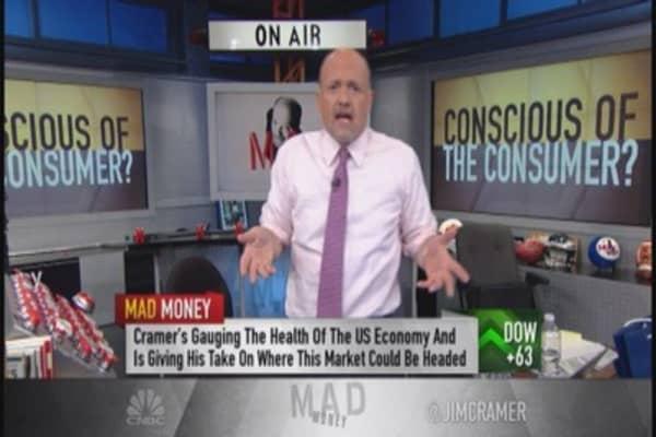 Cramer: Money on consumer cavalry saving the day