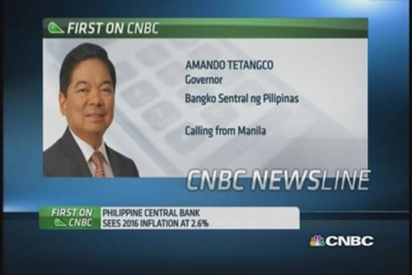 Philippines central bank: No need to hike rates