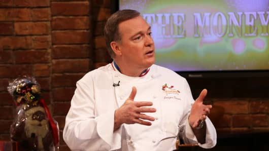 "Jacques Torres on the set of ""On The Money"""