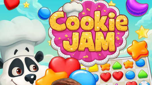 Cookie Jam screen shot