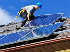 Solar panel instalation