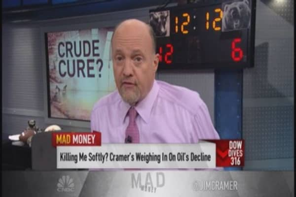 Cramer: Oil will cure itself