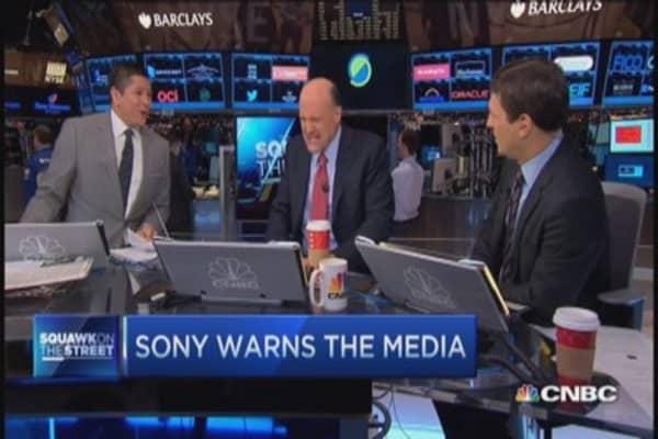 Warning from Sony