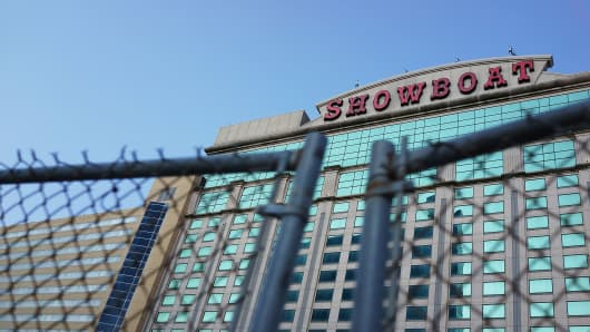 The Showboat Casino in Atlantic City, New Jersey.