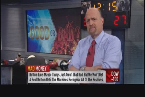 Cramer: Things just aren't so bad