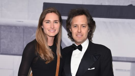 Lauren Bush Lauren and David Lauren attend the 2014 Whitney Gala presented by Louis Vuitton on November 19, 2014 in New York City