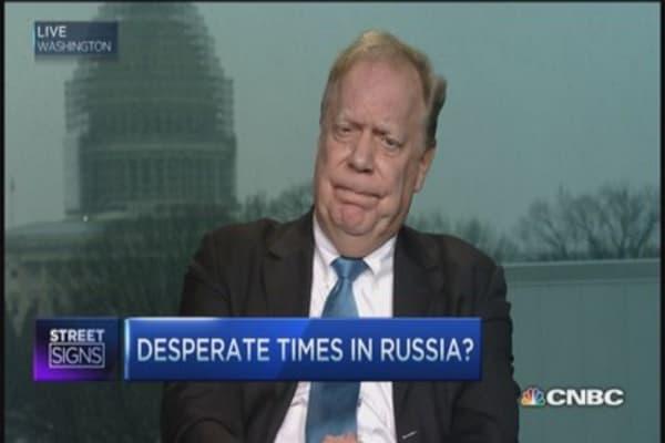 Putin lost control?