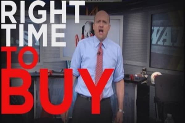 Cramer: It's the right time to buy this stock